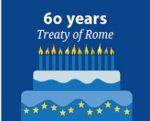 EU - 1957-2017 - 60 Jahre Verträge von Rom