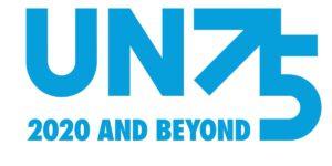 75 Jahre Vereinte Nationen - UN75 - Logo 2020