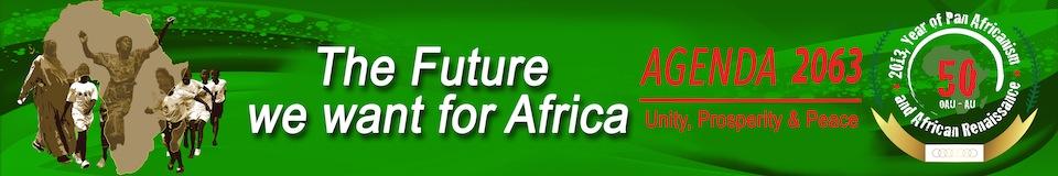 Agenda 2063 der Afrikanischen Union (Banner)