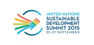 UN-Gipfel für nachhaltige Entwicklung im September 2015 - Logo
