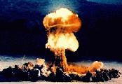 Detonation einer Atombombe (Bildquelle: US-Army)
