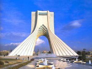 Iran - Freiheitsturm (Azadi) in Teheran (Bildquelle: unbekannt)