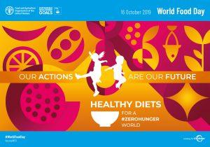 Welthungertag 2019 - Thema und Logo
