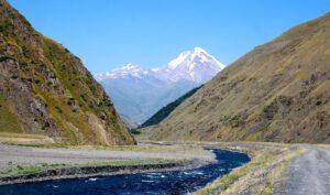 Kaukasusgebirge - Kasbek (Bildquelle: unbekannt)